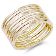 Gold Plated Hinged bangles