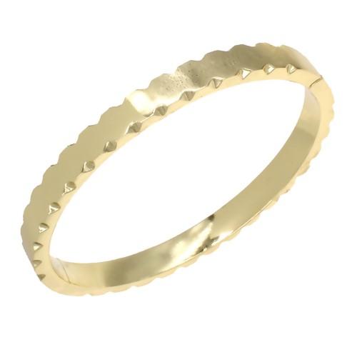 Gold Plated Hinged Bangle Bracelets
