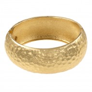 Gold Plated Hinged Bangles Bracelet
