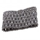 Hematie Crystals 5 Rows Stretch Bracelet Fashion Trendy Jewelry Party Prom for Women