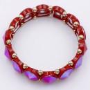 Red Crystal Stretch Bracelet