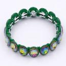 Green AB Color Crystal Bracelet