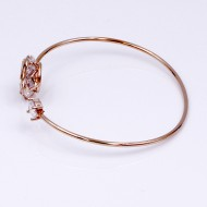 Rose Gold Plated with Cuff Bracelets