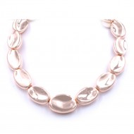 "Rose Gold Plated with 16""+5"" Fashion Statement Necklaces"
